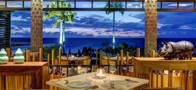 mozaic beach club bali romantic restaurant