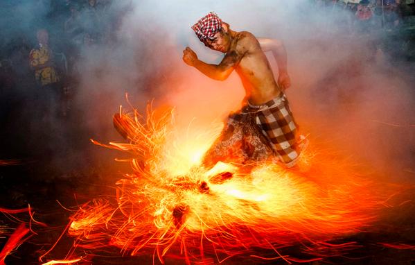 Bali rituals, sports and island preservation