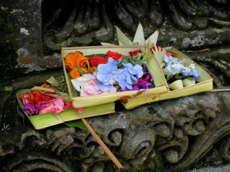 Nyepi flower offer photo by Jabunami Villa