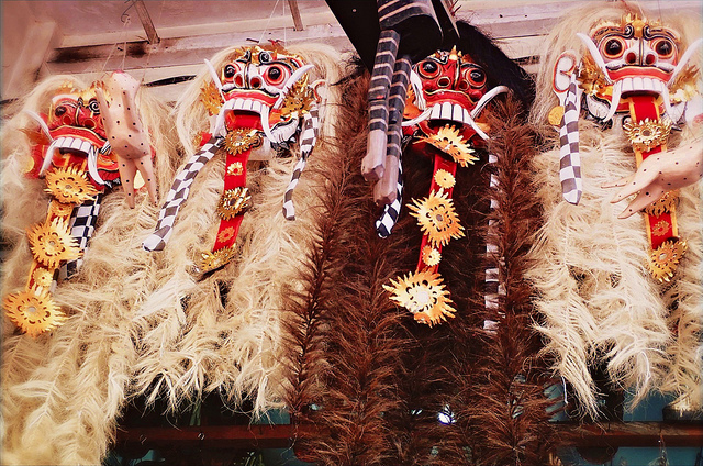 Masks at Ubud, Bali, Indonesia | © SarahTz/Flickr