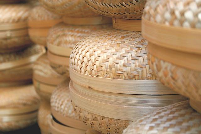 Baskets at Craftsmen's village, Bangli, Bali | © The Wandering Angel/Flickr