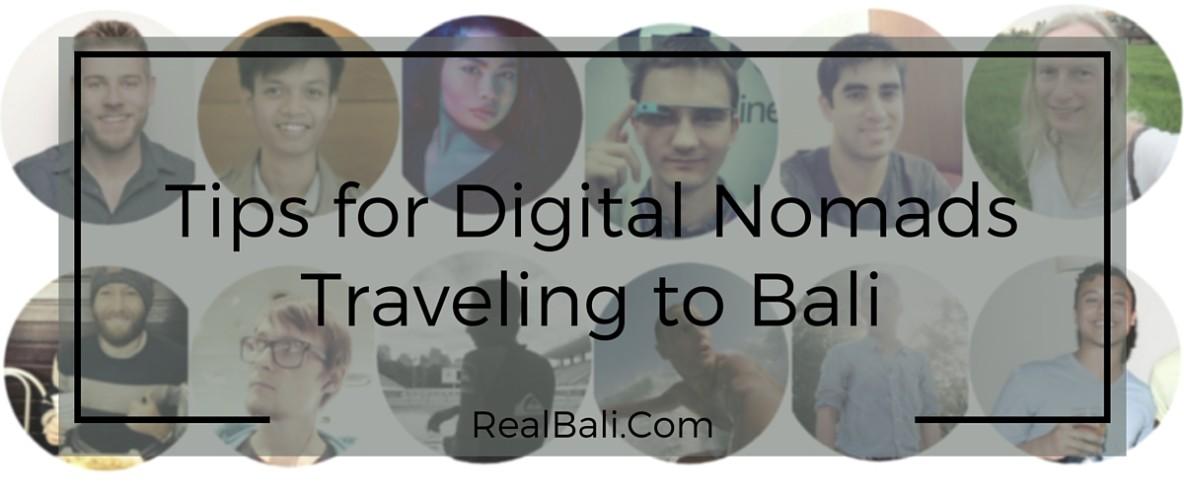 Tips for Digital Nomads Traveling to Bali